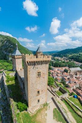 Zamek Chateau de Foix, Francja