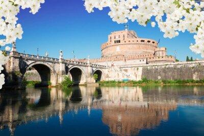 Obraz Zamek św. Angelo, Rzym, Włochy