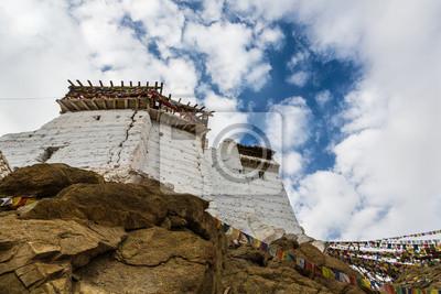 Zamek Tsemo w Leh, Ladakh, Indie