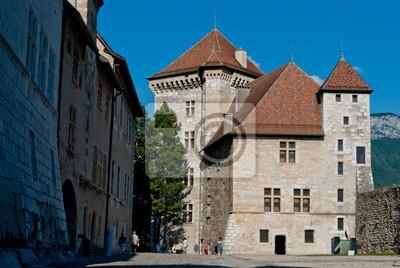 Zamek w Annecy, Francja