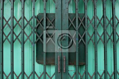 Obraz Zamknięte drzwi dwuwarstwowa