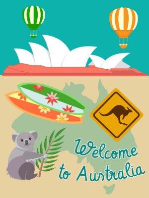Obraz Zapraszamy do Australii