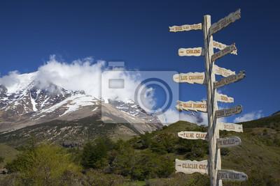 Zarejestruj pokazano kierunki i szlaki turystyczne.
