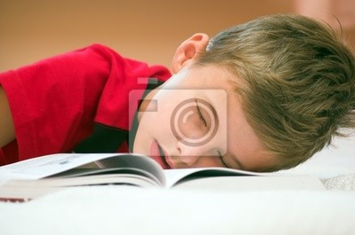 Zasnął po studiach ...