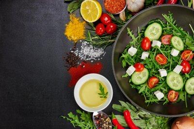 Obraz zdrowa żywność
