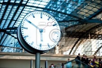 Zegar stacji