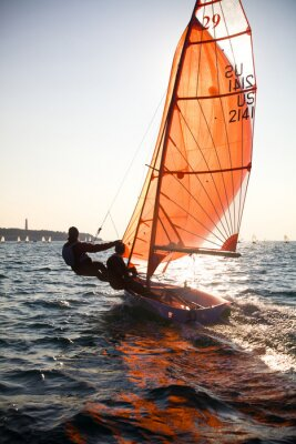Obraz żeglarstwo