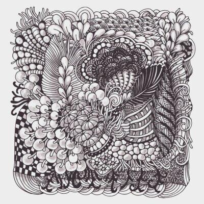 Obraz Zentangle