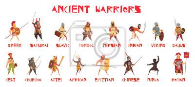 Obraz Zestaw Ancient Warriors