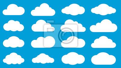 Obraz Zestaw chmury