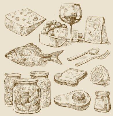 Obraz Zestaw Kitchen
