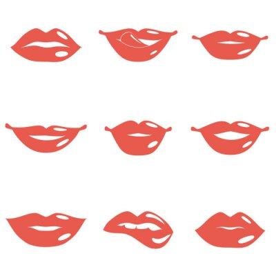 Obraz Zestaw Lips