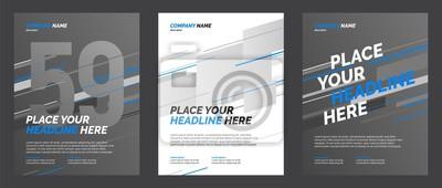 Zestaw szablonu układu broszury, tło projektu okładki, raporty roczne. Można dostosować do raportu rocznego, magazynu, plakatu, prezentacji korporacyjnej.