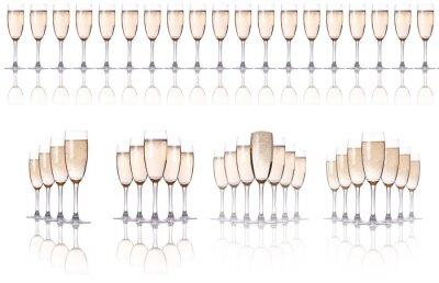 zestaw szampana
