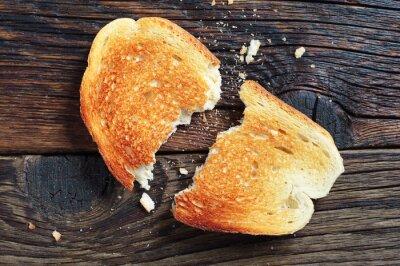Obraz Zgrywanie chleb tostowy