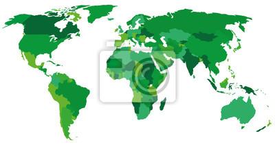 Obraz zielony świat