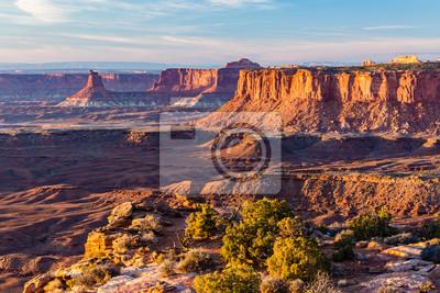 Złota godzina z Canyonlands Grand Viewpoint