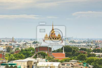 Złota Góra Wat Saket Bangkok