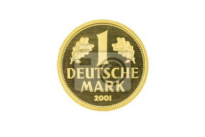 Obraz Złota moneta 1 D-Mark