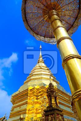 Złota Świątynia w Chiang Mai