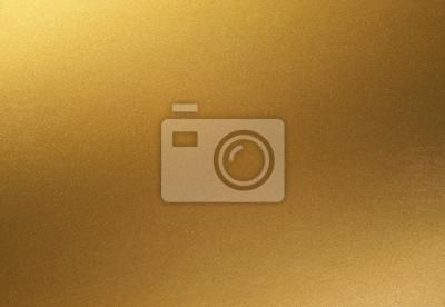 Obraz złote błyszczące tło gradientowe. złoty papier z efektem metalicznym.