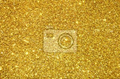 Obraz złote cekiny w tle