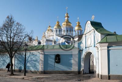 złote kopuły Kijowa