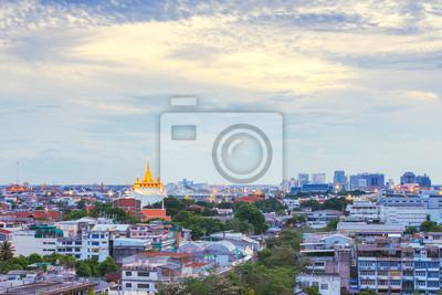 Złoty Mountain Temple, Wat Saket Bangkok