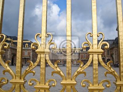 Złoty ogrodzenia