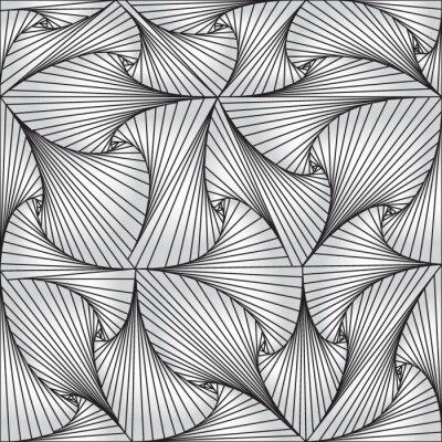 Obraz Złudzenie optyczne. Streszczenie tle. Opt sztuki ilustracji dla twojego projektu. Służy do karty, zaproszenia, tapety, wzór wypełnienia, stron internetowych i elementów itp