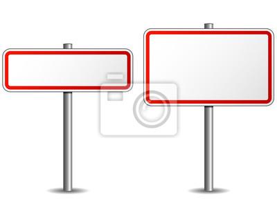 Obraz Znak drogowy