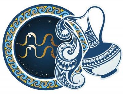 Obraz Znaki zodiaku - Wodnik