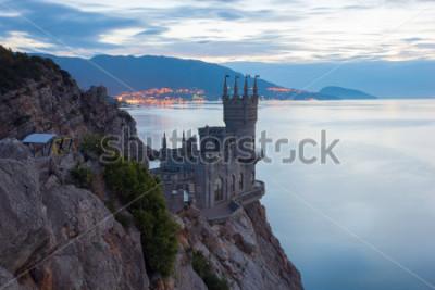 Obraz Znany zamek jaskółki gniazdo niedaleko Jałty