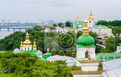 Zobacz Ławra Kijów Pechersk klasztoru prawosławnego. Ukraina