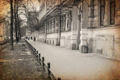 Obraz zobacz St-Petersburg. Retro styl.