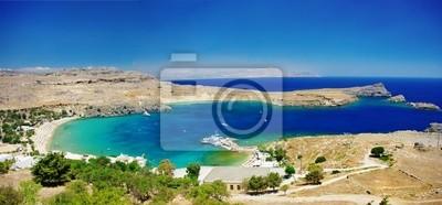 Zobacz w Lindos Bay- Wyspa Rodos, Grecja