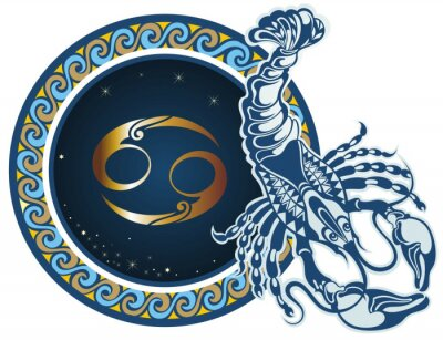 Obraz Zodiac signs - Cancer