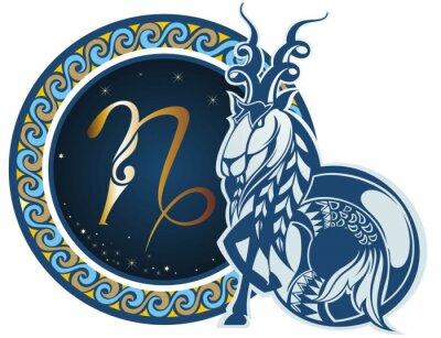 Obraz Zodiac signs - Capricorn