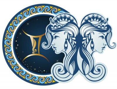 Obraz Zodiac signs - Gemini