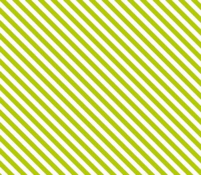 Obraz Zwolniony: Diagonale Streifen w Grün und Weiß