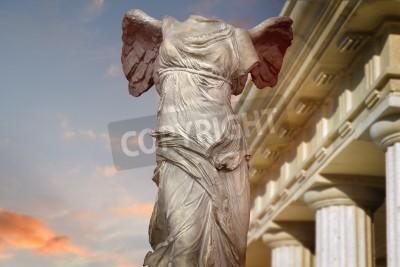 Obraz Zwycięstwo Samotracia Sztuki Starożytnej