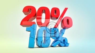 20 procent off