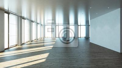 3d Wnętrza Loftu Plakaty Redro