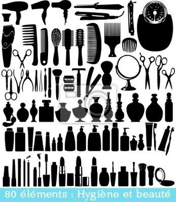 80 éléments hygiène et beauté