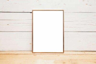 Plakat 8x10 18x20 Frame Mockup, Styled Mockup on Wood