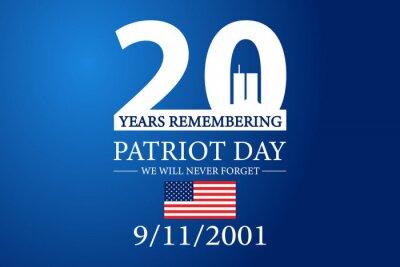 Plakat 9 11 Patriot Day 2021