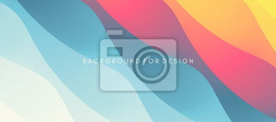 Plakat Abstract background with dynamic effect. Modern pattern. Vector illustration for design.
