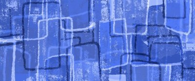 Plakat abstract blue retro background