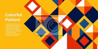 Plakat Abstract Colorful Background