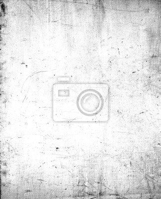Plakat Abstract dirty or aging frame. Dust particle and dust grain texture on white background, dirt overlay or screen effect use for grunge background and vintage style.